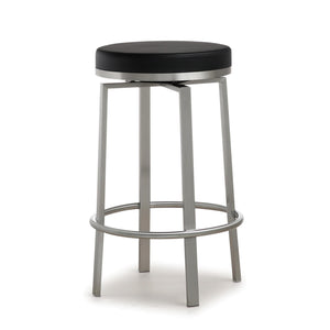 TOV Furniture Modern Pratt Black Steel Counter Stool - Set of 2 - TOV-K3675-Minimal & Modern