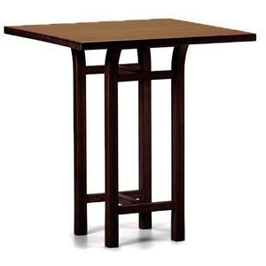"Greenington Modern Bamboo Tulip 40"" Bar Height Table-Minimal & Modern"