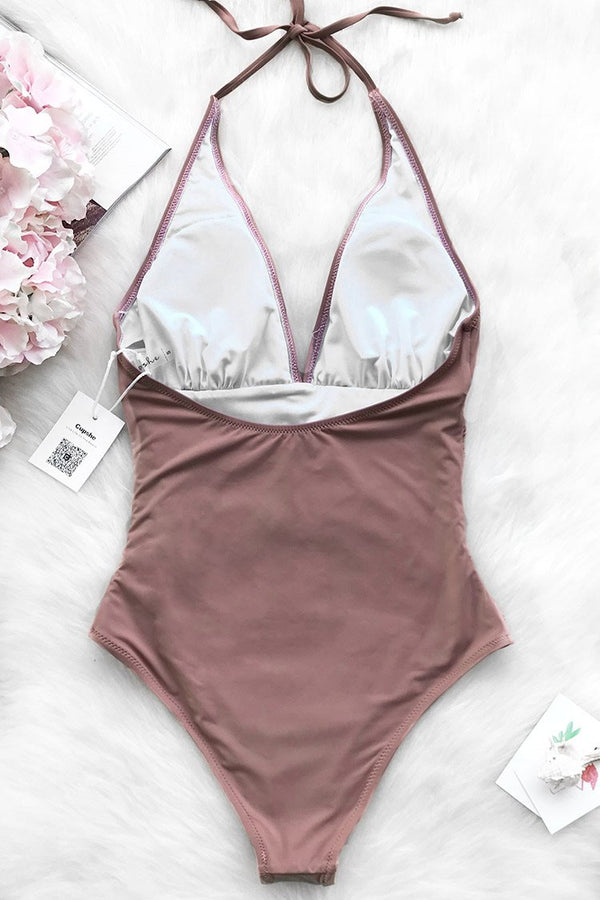 8e1bcb3c176 Dawn Mist Shirring One-piece Swimsuit ...
