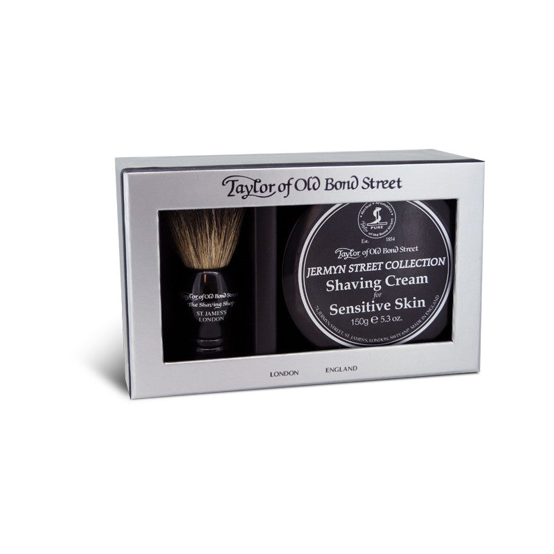 Taylor of Old Bond Street Pure Badger & Jermyn Street Gift Box - Cyril R. Salter