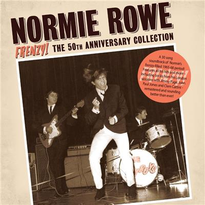Frenzy! The 50th Anniversary Collection (CD) | Normie Rowe