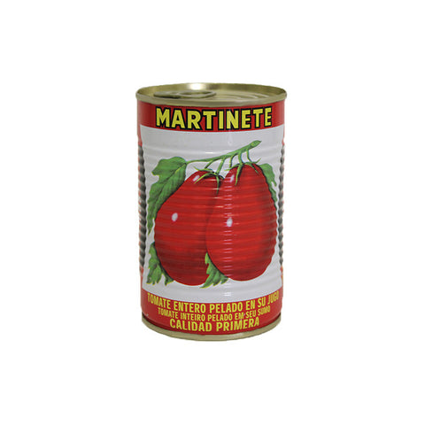 Whole Peeled Tomato MARTINETE |Tomate Entero Pelado MARTINETE