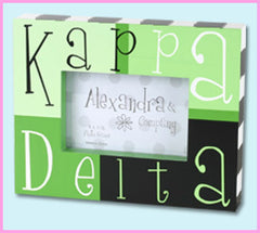 Kappa Delta Block Photo Frame - Alexandra Co. a1047