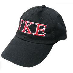 Fraternity Pigment-Dyed Embroidered 2 Color Greek Letter Hat - Adams AD969 - EMB