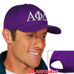 Alpha Phi Delta 2-Color Embroidered Cap - Port and Company CP80 - EMB
