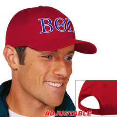 Beta Theta Pi 2-Color Embroidered Cap - Port and Company CP80 - EMB