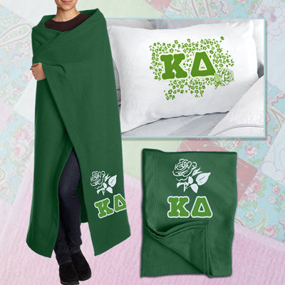 Kappa Delta Pillowcase / Blanket Package - CAD