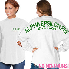 Alpha Epsilon Phi Game Day Jersey - J. America 8229 - CAD