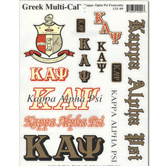 Kappa Alpha Psi Multi-Cal Sticker