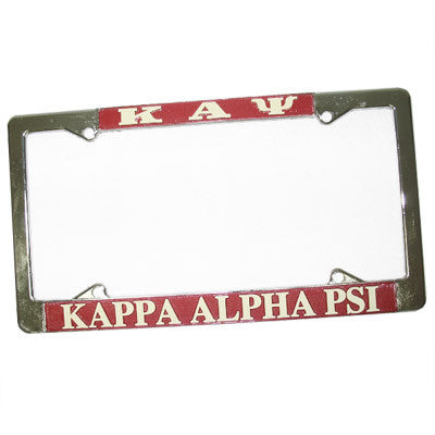 Kappa Alpha Psi License Plate Frame - Rah Rah Co. rrc