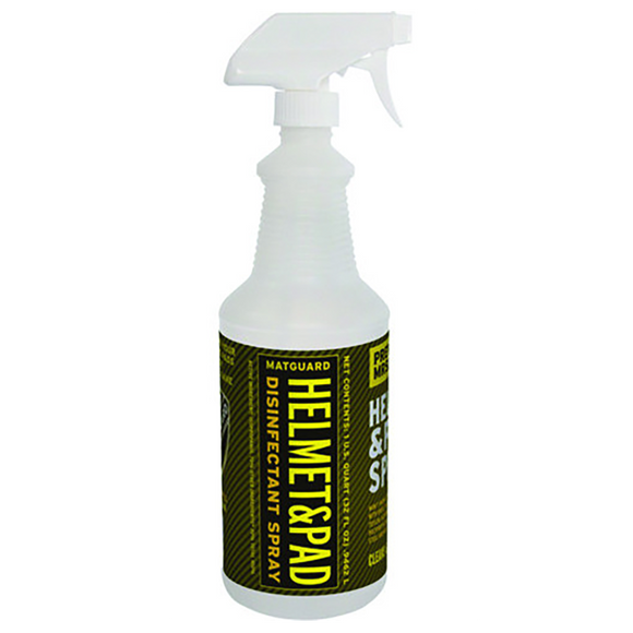 Helmet & Pad by MATGUARD® - 32 oz Spray (coach size)
