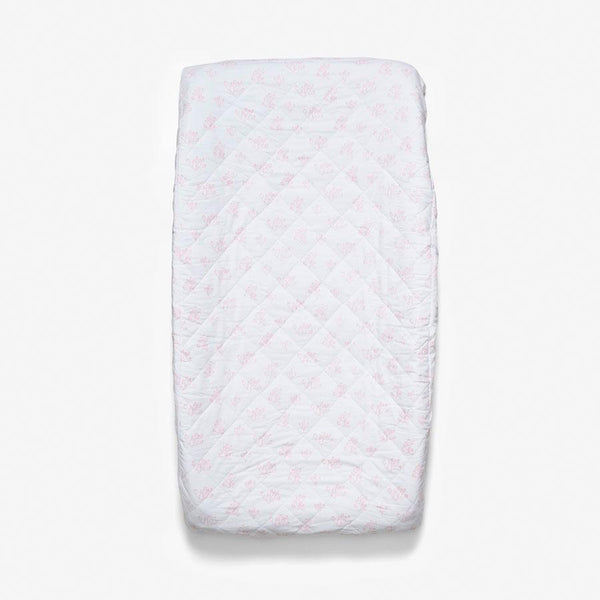 Changing Pad Cover - Rose Hip | Blush Changing Pad Cover Lewis
