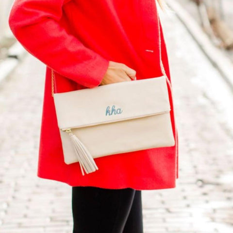 Arden Classic Clutch Dove