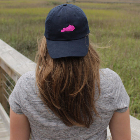 Baseball Cap with Small State Embroidery | Multiple Colors