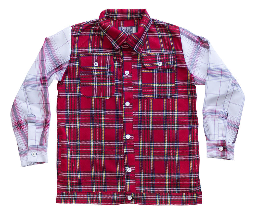 Con Red Flannel Shirt