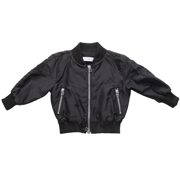 Kids Hero Bomber II - Black/White