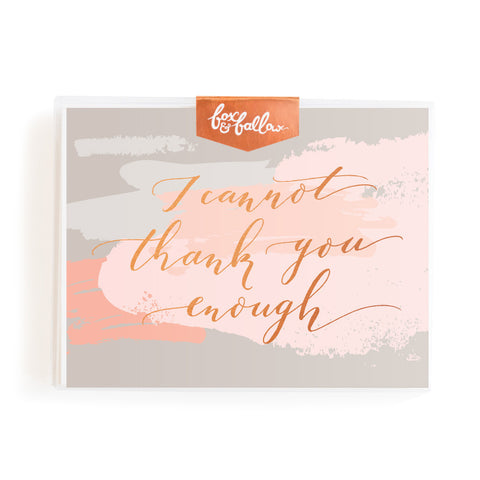 Thank You Enough Greeting Card Boxed Set