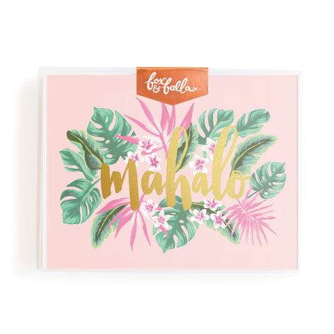 Mahalo Greeting Card Boxed Set