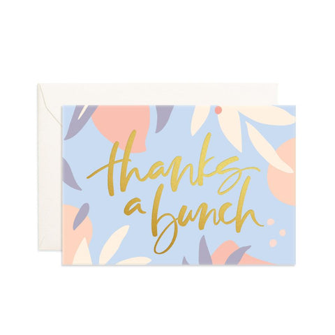 Thanks A Bunch Mini Greeting Card