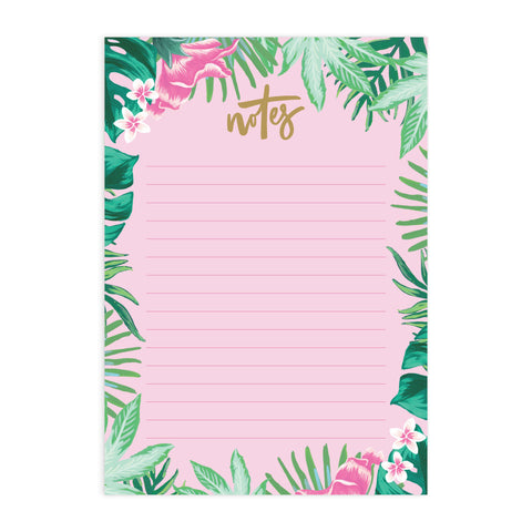 Tropical A5 Notepad