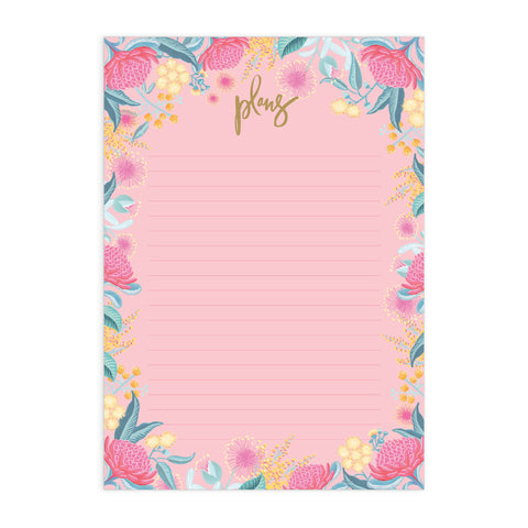 Wildflower A4 Notepad Refill