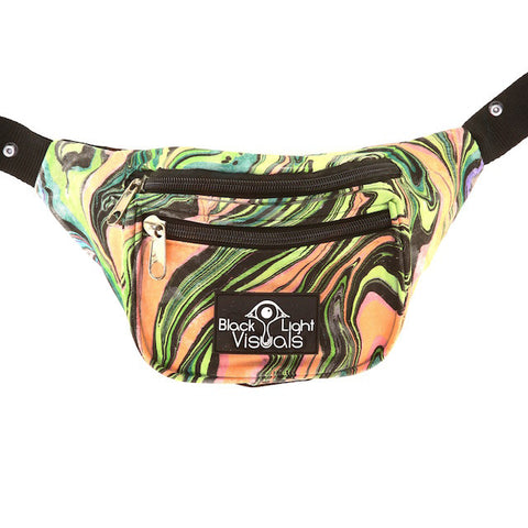 Painted Fanny Pack 043