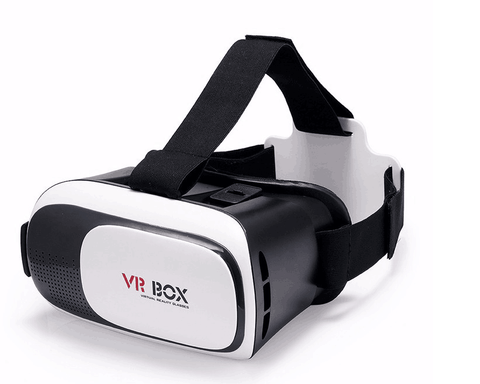 VR Box - Virtual Reality 3D briller med controller (fjernbetjening)