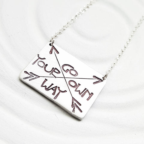 Go Your Own Way | Arrow Necklace