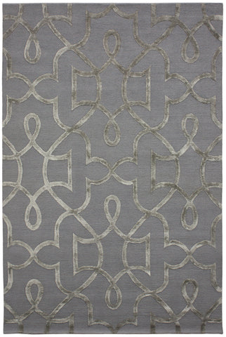 Nouveau Collection Tommaso Rug in Nickel