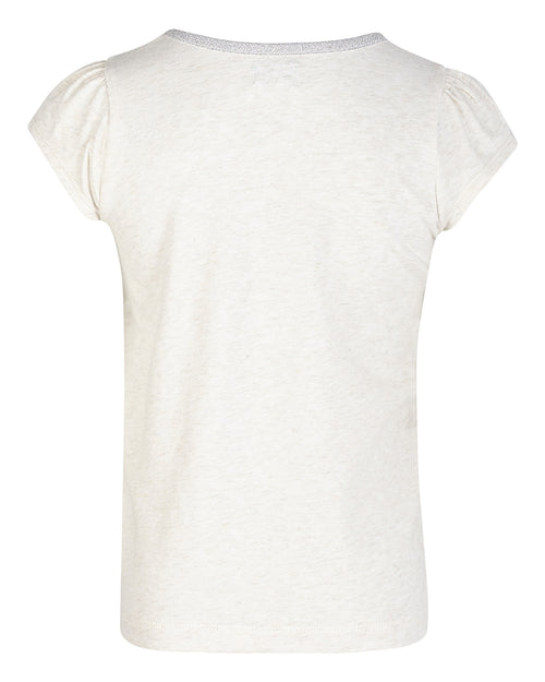 Mini A Ture - T-shirt, Alesa - Antique White