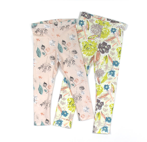 Leggings Floral - 5 Options - LITTLE FOOT CLOTHING CO.