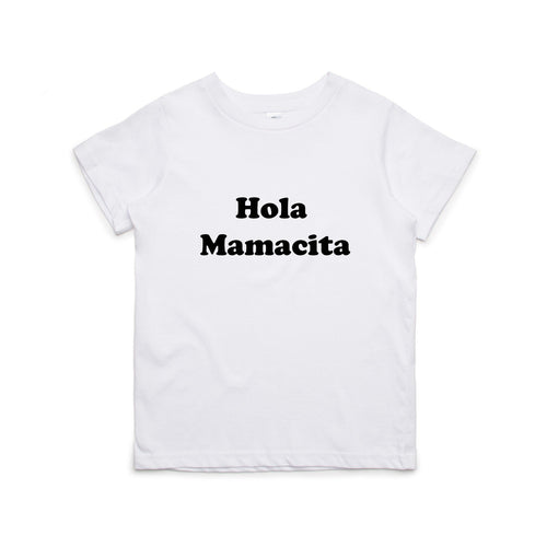 HOLA MAMACITA T-SHIRT - 2 SHIRT OPTIONS - LITTLE FOOT CLOTHING CO.