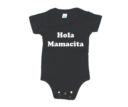 HOLA MAMACITA BODYSUIT - 2 OPTIONS - LITTLE FOOT CLOTHING CO.