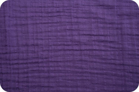 Shannon Fabrics Embrace Double Gauze - Amethyst Solid