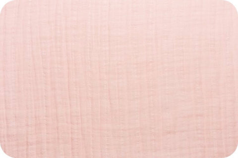Shannon Fabrics Embrace Double Gauze - Baby Pink Solid