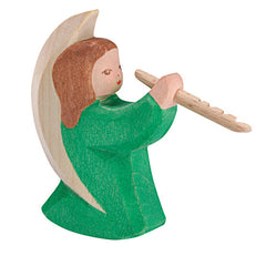 Angel Playing Flute - Ostheimer