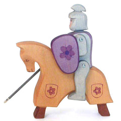 Knight with Horse Set Red  - Ostheimer - Ostheimer