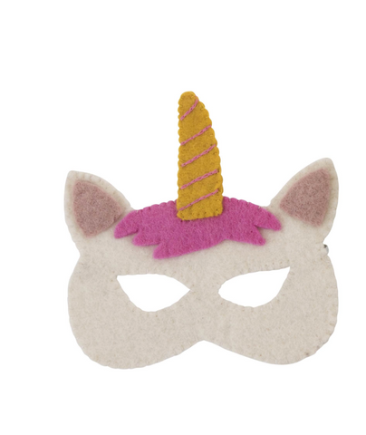 Felt Animal Masks - Unicorn