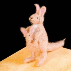 Needle Felting Kit- Kangaroo