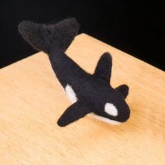 Needle Felted Kits- Orca