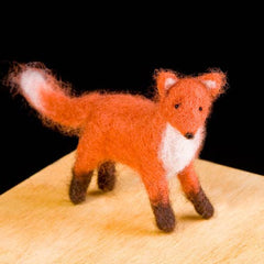 Red fox felting kit