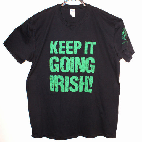 "LISC - ""Keep It Going Irish!"" Black T-Shirt"