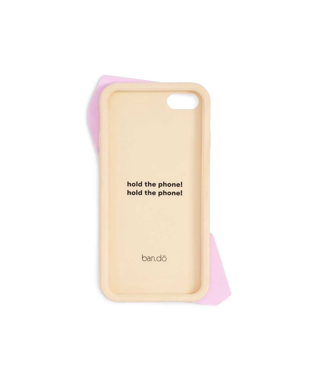 Silicone iPhone  Case - Hold The Phone