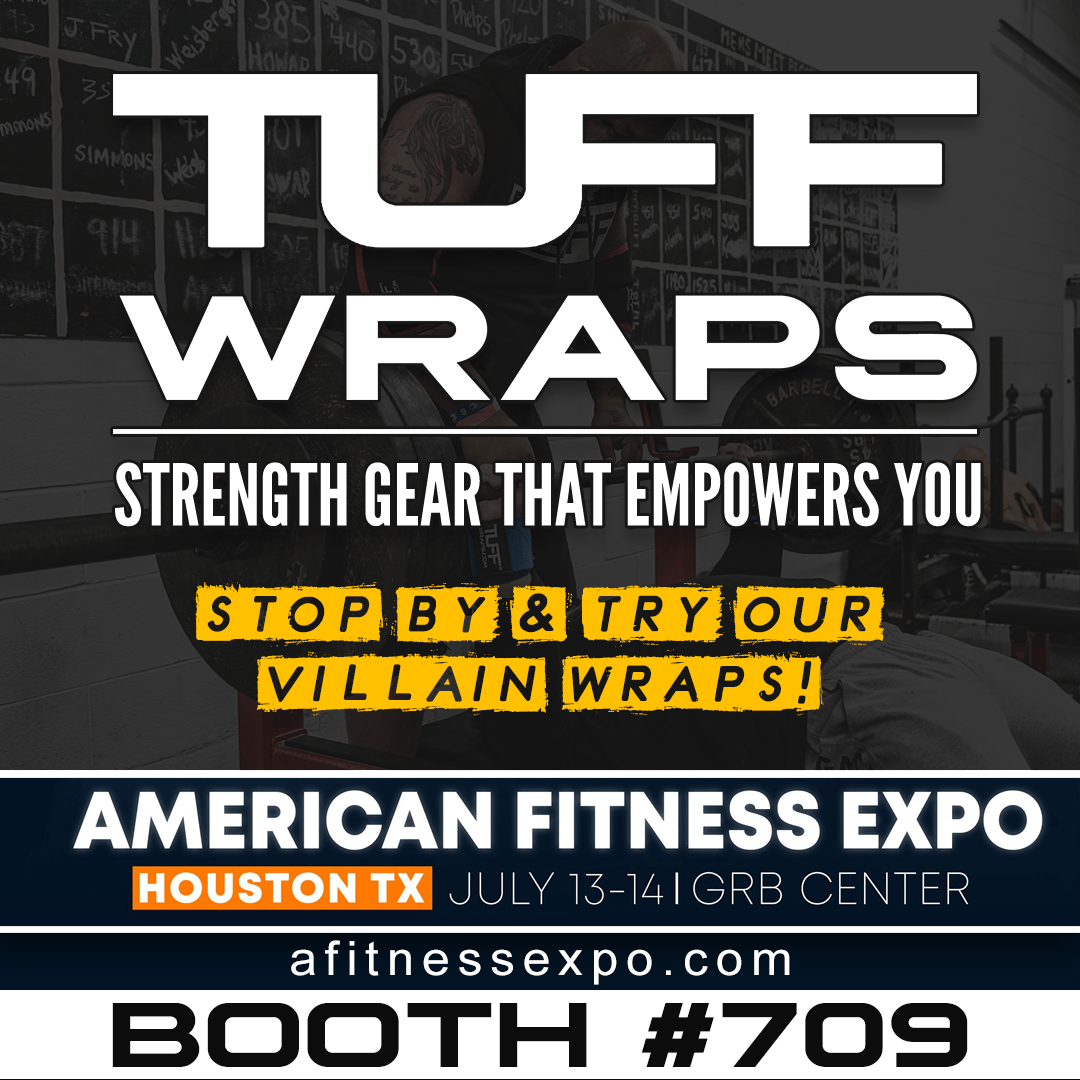TuffWraps American Fit Expo - 2019, July 13-14 - Booth #709
