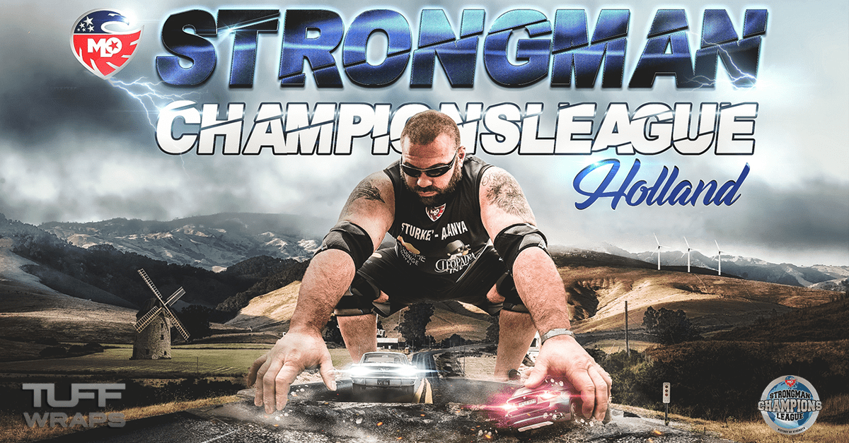 TuffWraps Is The Official Kit Sponsor Of The Strongman Champions League