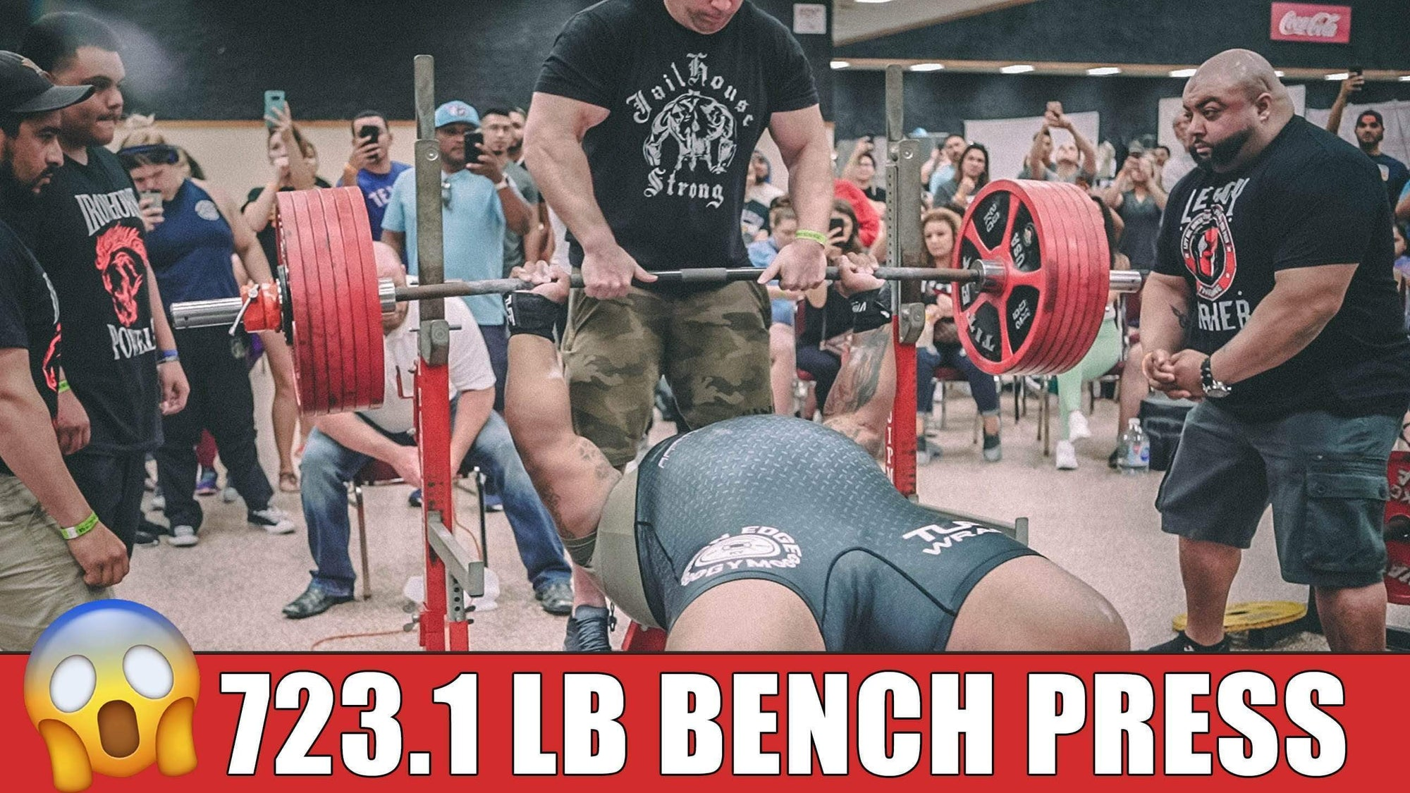 Julius Maddox 723.1 Lb Bench Press Is The New American Record!