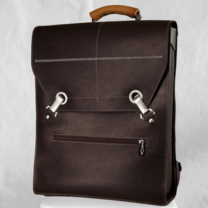 BEN Laptop Backpack – Chocolate Brown-Rimanchik