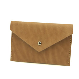 Personalized MAILER Wallet - Vegetable Tan-Rimanchik