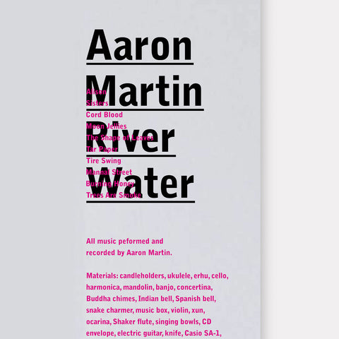 Aaron Martin: River Water
