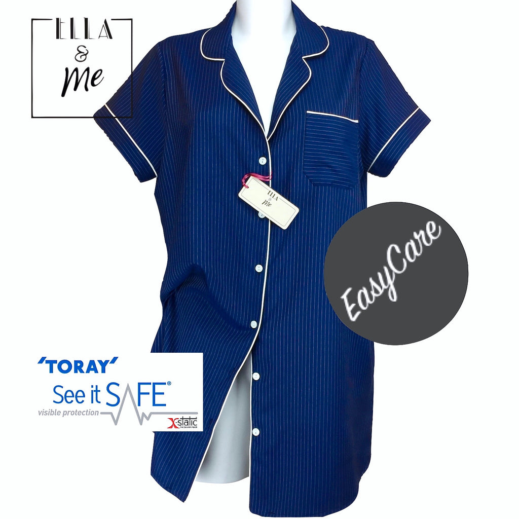 Ella & Me ...The Paramount Classic Navy Nightshirt